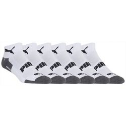 Puma Mens 6-pk. Training Quarter Crew Socks