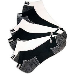 Puma Mens 6-pk. Colorblock Space Dye Low Cut Socks