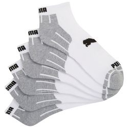 Puma Mens 6-pk. Logo Low Cut Socks