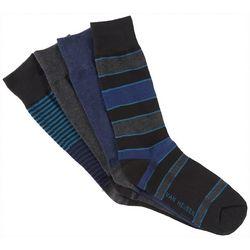 Van Heusen Mens 4-pk. Stripe Crew Dress Socks