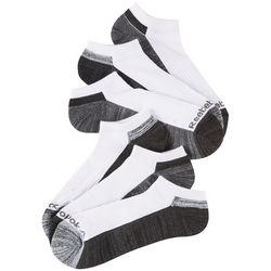 Reebok Mens 6-pk. Colorblocked Performance Low Cut Socks