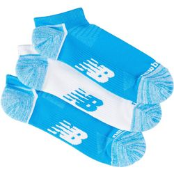 New Balance Mens 3-pk. Running Ankle Socks