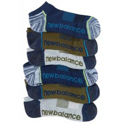 New Balance Mens 6-pk. Essentials No Show Socks