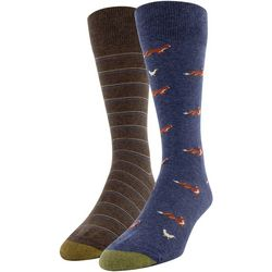 Gold Toe Mens 2-pk. Fox & Hen Pointer