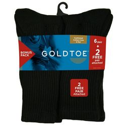 Gold Toe 8-pk. Cotton Crew Socks