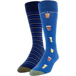 Gold Toe Mens 2-pk. On Tap Crew Socks