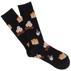 Davco Mens Breakfast All Day Crew Socks