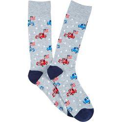 Davco Mens American Truck Crew Socks