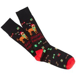 Soxland Mens Seasons Barkings Crew Socks