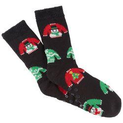 Soxland Mens Ugly Sweater Slipper Socks