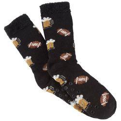 Soxland Mens Football Beer Slipper Socks