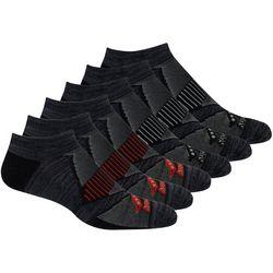 Saucony Mens 6-Pk. No Show Performance Socks