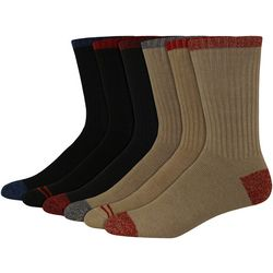 Dockers Mens 6-pk. Solid Sport Crew Socks