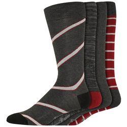 Dockers Mens 4-pk. Striped Mid-Calf Dress Socks