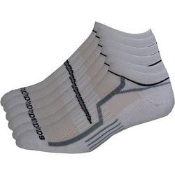 Saucony Mens 6-pk. White No-Show Performance Socks