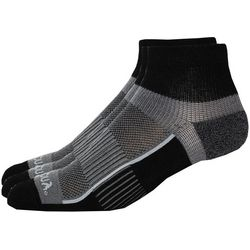 Saucony Mens 3-pk. Pro Inferno Black Quarter Socks