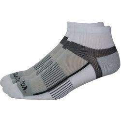 Saucony Mens 3-pk. Pro Inferno White Quarter Socks