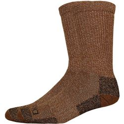 Dickies Mens 2-pk. Moisture Control Brown Socks