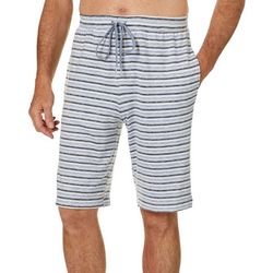 Ande Mens Whisper Luxe Heathered Stripe Pajama Shorts