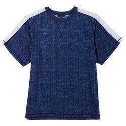 Ande Mens Whisper Luxe Abstract Print Pajama Shirt