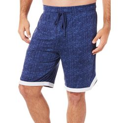 Ande Mens Whisper Luxe Contrast Hem Pajama Shorts