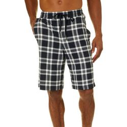 Ande Mens Lush Leo Plaid Pajama Shorts