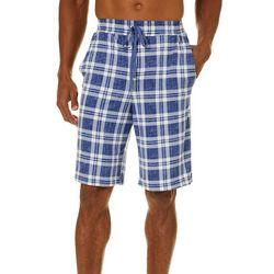 Ande Mens Lush Leo Plaid Pajama Shorts
