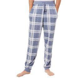 Ande Mens Plaid Jogger Pajama Pants