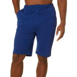 Tommy Bahama Mens Solid Bermuda Sleep Shorts