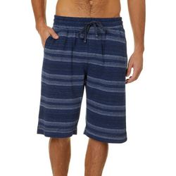 Tommy Bahama Mens Stripe Print Bermuda Sleep Shorts