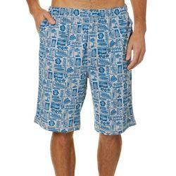 Tommy Bahama Mens Tropical Icon Bermuda Sleep Shorts