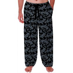 IZOD Mens Hibiscus Lite Touch Fleece Pajama Pants