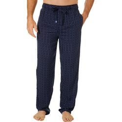 IZOD Mens Lightweight Dot Print Pajama Pants