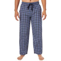 IZOD Mens Tartan Plaid Print Pajama Pants