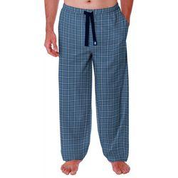 IZOD Mens Jersey Knit Plaid Pajama Pants