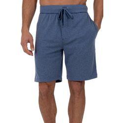Izod Mens Pindot Mesh Pajama Shorts