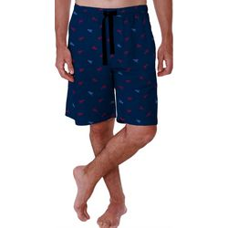 Izod Mens Lobster Print Pajama Shorts