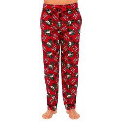 IZOD Mens Happy Elfn Holidays Fleece Pajama Pants