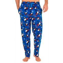 IZOD Mens Let's Get Jolly Fleece Pajama Pants