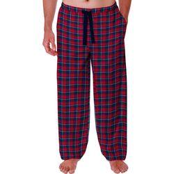 IZOD Mens Heather Flannel Pajama Pants
