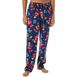 Simpsons Mens Holiday Fleece Pajama Panys