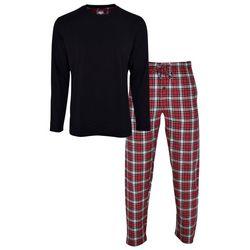 Hanes Mens Plaid Flannel Pajama Pants Set