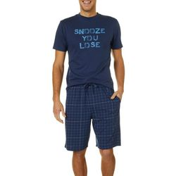Haggar Mens 2-pc. Snooze You Lose Pajama Set