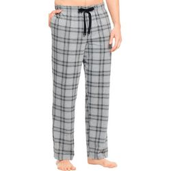 Haggar Mens Jersey Plaid Print Pajama Pants