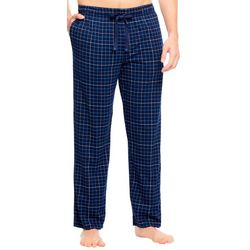 Haggar Mens Jersey Plaid Pajama Pants
