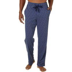 Haggar Mens Jersey Football Print Pajama Pants