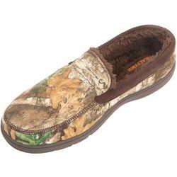 Weatherproof Mens Camo Venetian Moccasin Slippers