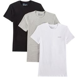 Columbia Mens 3-pk. Cotton Stretch Crew Neck T-Shirt