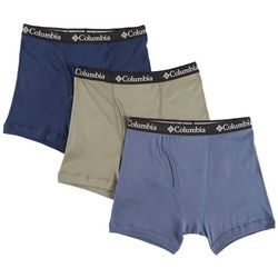 Columbia Mens 3-pk. Cotton Performance Boxer Briefs