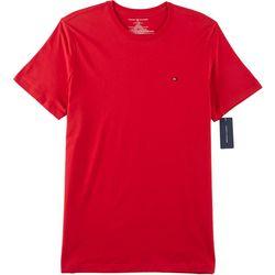 Tommy Hilfiger Mens Solid Short Sleeve Shirt